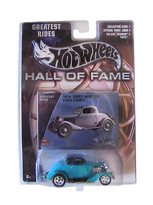 Hot Wheels 1934 Ford Coupe Diecast Car