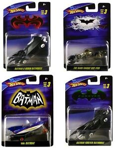 Hot-Wheels-Batman-1-50-Scale-Series-03-Set-of-4
