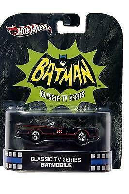 Hot Wheels Classic TV Series Batmobile Diecast Car