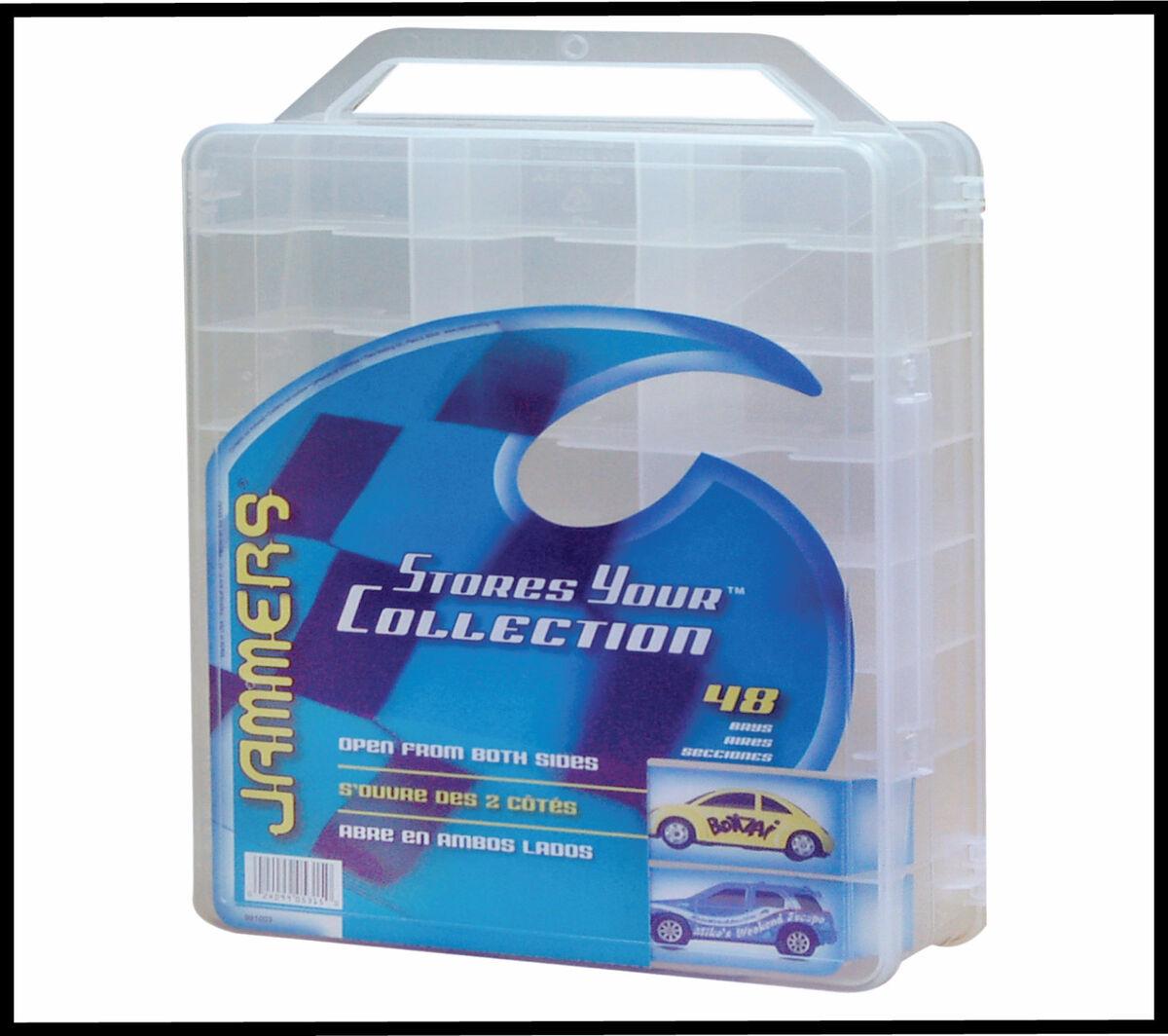 Hot Wheels Matchbox Jammers 48 Car Storage Case New Thread Bead Jewel