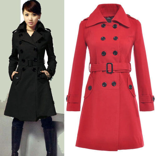 womens double breasted trench coat № 342839