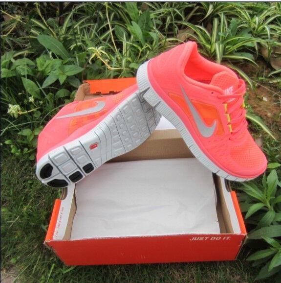 Nike Free 5.0+3 Damen Schuhe Neon Pink Hot Punch hauptstadt