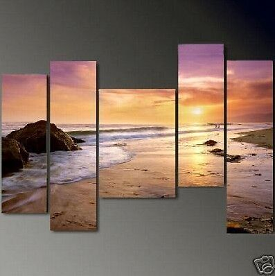 Hot sale! 5PC MODERN ABSTRACT HUGE LARGE CANVAS ART OIL PAINTING +FREE GIFT in Art, Direct from the Artist, Paintings | eBay