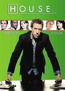 House - Season 4 (DVD, 2008, 4-Disc Set)