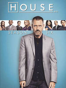 House: Season Six (DVD, 2010, 5-Disc Set...