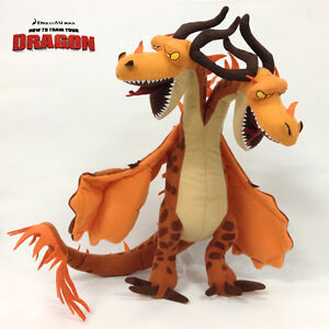 How to Train Your Dragon Plush Hideous Zippleback Two ...
