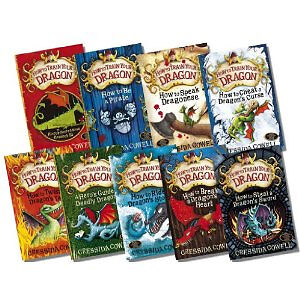 How to Trains Your Dragon Collection Cressida Cowell 9 ...