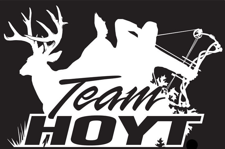 Hoyt Archery and Deer Hunter Hunting Logo Decal Custom Size Color