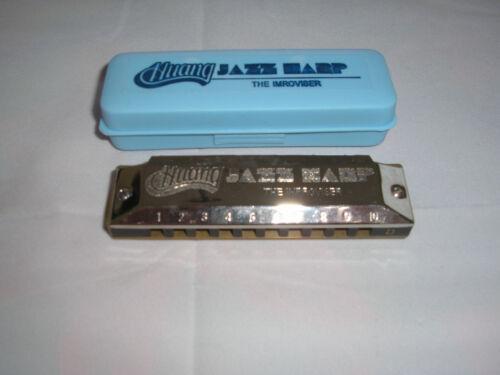 "Huang harmonica ""JAZZ harp"" key of D, former Hohner designer!!! in Musical Instruments & Gear, Harmonica, Contemporary | eBay"