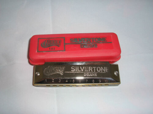 "Huang harmonica ""SILVERTONE harp"" key of C, former Hohner designer!!! in Musical Instruments & Gear, Harmonica, Contemporary 