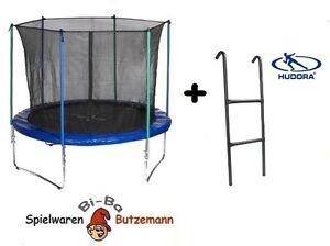 hudora trampolin 305 cm mit sicherheitsnetz und leiter modell 2012 neu ovp ebay. Black Bedroom Furniture Sets. Home Design Ideas