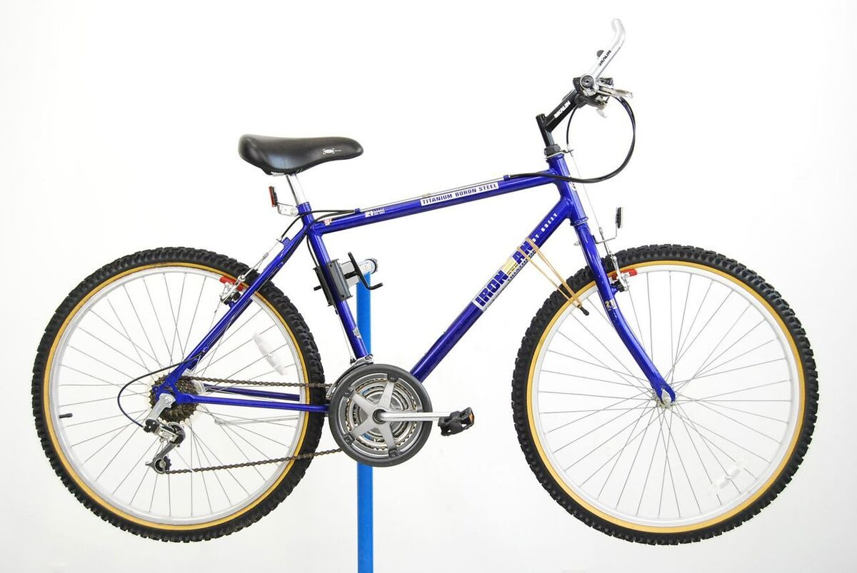 Huffy Ironman Mountain Bicycle Bike MTB Shimano Kalin 1999 21 Speed