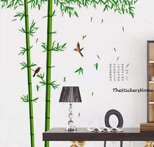 Huge Combo BAMBOO TREE Wall Stickers Removable Art Decal Paper Mural ...: www.ebay.co.uk/itm/Huge-Combo-BAMBOO-TREE-Wall-Stickers-Removable...