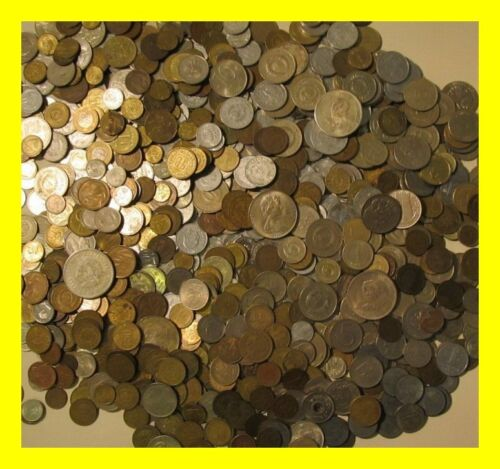 Huge Unsearched 4000 Pound Lot of World Foreign coins selling by the pound in Coins & Paper Money, Coins: World, Collections, Lots | eBay