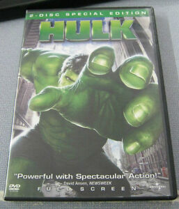 The Hulk (DVD, 2003, 2-Disc Set, Full Fr...