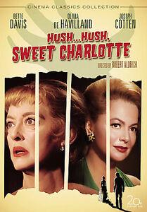 Hush...Hush, Sweet Charlotte (DVD, 2008,...