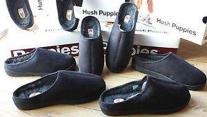 Hush-Puppies-Hausschuhe-flauschig-weiches-Innenfutter-angenehm-weiche-Sohle-NEU