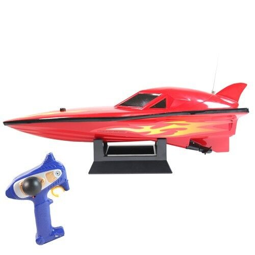 "Hype 27MHz R/C Remote Control 14"" Raceboat - Speed Through The Water! in Toys & Hobbies, Electronic, Battery & Wind-Up, Electronic & Interactive 