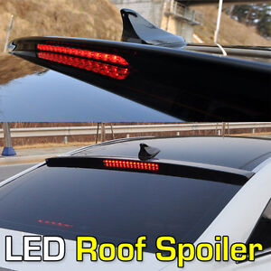 Hyundai 2011 2012 2013 Sonata Rear Led Roof Spoiler Brake Light Painted Part I45 Ebay