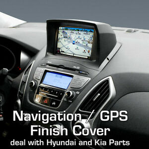 Hyundai Tucson IX 35 GPS Navigation Housing Finish Cover 2011 2012