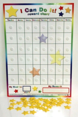 I Can Do It reward chart replacement extra board and stars. NO tasks included. in Toys & Hobbies, Educational, Other | eBay