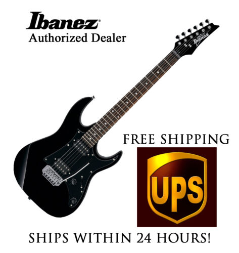 **IBANEZ GRX20Z BLACK ELECTRIC GUITAR, INCLUDES FULL SET-UP AND FREE SHIPPING** in Musical Instruments & Gear, Guitar, Electric | eBay