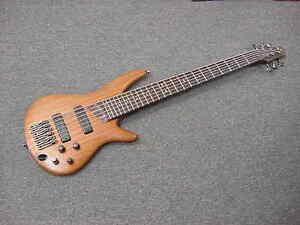 ibanez prestige sd gr 6 string bass guitar exotic woods bartolini pickups ebay. Black Bedroom Furniture Sets. Home Design Ideas