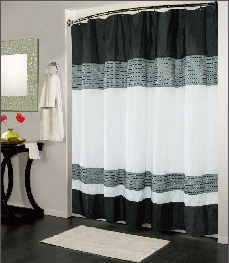 Luxury Fabric Shower Curtain Bathroom Accessories 70 X 72
