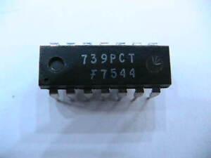 IC-BAUSTEIN-739PCT-3x-LM739-12271