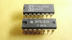 IC-BAUSTEIN-74LS92-2x-20653-181