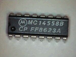 IC-MC14558BCP-BCD-TO-SEVEN-SEGMENT-DECODER