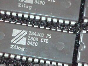 IC-Z80B-CTC-Zilog-Z8430BPS-Vintage-1984
