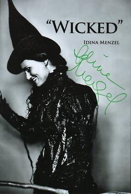 IDINA MENZEL SIGNED PHOTO RP 8X10 WICKED THE MUSICAL in Sports Mem, Cards & Fan Shop, Autographs-Reprints | eBay