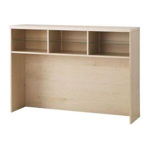 ikea bonde white tv shelving unit new ebay. Black Bedroom Furniture Sets. Home Design Ideas