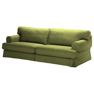 ikea hovas sofa slipcover 3 seat sofa cover kallvik light