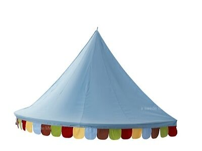 Ikea kids children circus tent wall canopy play bed twin Twin bed tent ikea