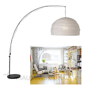 ikea lounge lampe leuchte stehlampe stehleuchte bogenleuchte bogenlampe neu ovp ebay. Black Bedroom Furniture Sets. Home Design Ideas
