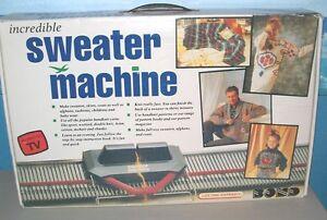 ultimate sweater machine instructions