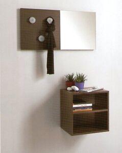Ingresso specchiera ingressi specchio pareti moderni moderno cubi specchi design ebay - Pareti a specchio ...
