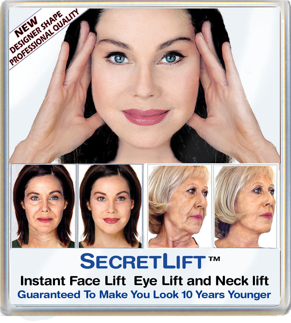 INSTANT FACELIFT AND NECKLIFT FACE NECK LIFT TAPES