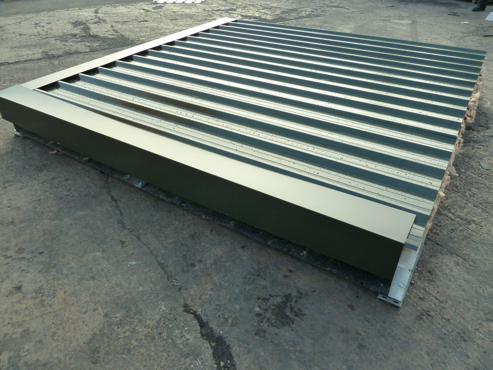Insulated roofing sheets double skin roof