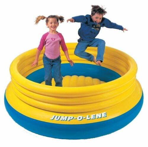 INTEX Inflatable Jump-O-Lene Ring Bounce Kids Bouncer | 48267EP in Toys & Hobbies, Outdoor Toys & Structures, Inflatable Bouncers | eBay