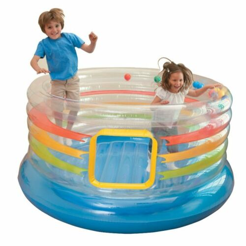 INTEX Inflatable Jump-O-Lene Transparent Ring Bounce Kids Bouncer | 48264EP in Toys & Hobbies, Outdoor Toys & Structures, Inflatable Bouncers | eBay