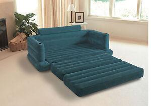 Intex lifestyle aufblasbar ausziehbares sofa pull out sofa for Couch aufblasbar