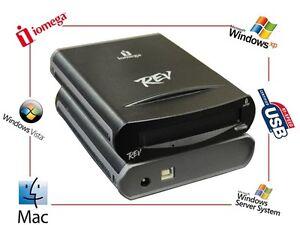 IOMEGA-REV-35GB-USB-2-0-External-Drive-Laufwerk