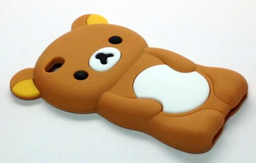 IPOD TOUCH 4 4TH GEN BROWN TEDDY BEAR SILICONE PROTECTOR SOFT SKIN CASE COVER in Consumer Electronics, Portable Audio & Headphones, iPod, Audio Player Accessories | eBay