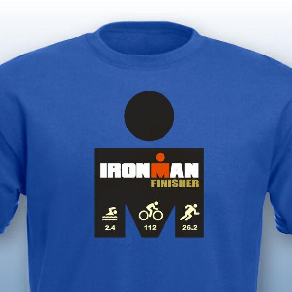 Ironman Triathlon Finisher Heavy Cotton T Shirt