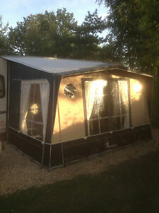 Isabella Magnum Moonlight Caravan Porch Awning Carbon