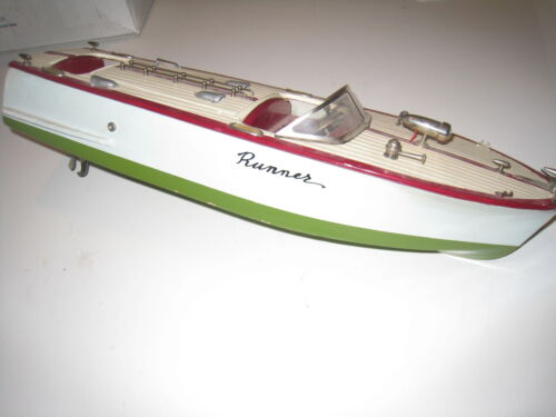 ITO K&O RUNNER TWIN SCREW Fleetline Aristo-Craft Boat TOY BOAT WOOD WOODEN SHIPS in Toys & Hobbies, Electronic, Battery & Wind-Up, Battery Operated | eBay