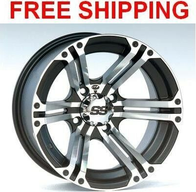 ITP SS212 Wheels Rims 12 4 Wheel Kit Grizzly 660 700